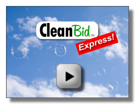 CleanBid Express Demo